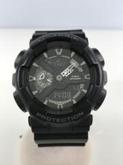 クォーツ腕時計・G-SHOCK/デジアナ/ラバー/ブラック/GA-110-1BJF