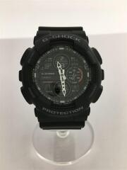 クォーツ腕時計・G-SHOCK/デジアナ/BLK/BLK/GA-140-1A1JF
