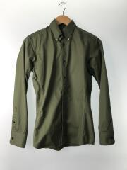 SHORT BD SHIRTS/ショートボタンダウンシャツ//2/コットン/グリーン/1061920008