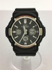ソーラー腕時計・G-SHOCK/デジアナ/ラバー/ブラック/GAW-100-1AJF