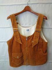 18AW/DSD Vest 6W Cotton Corduroy/Chestnut/ベスト/M/CML/エーアイイー