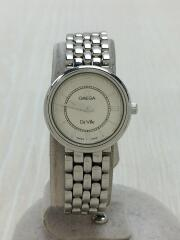 腕時計/アナログ/ステンレス/SLV/SLV/De Ville//クォーツ//DEVILLE/デビル//56409004