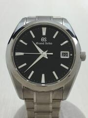 箱タグ付/クォーツ腕時計/アナログ/BLK/SLV/9F82-0AF0/コマ有/グランドセイコー/Grand Seiko グランドセイコー