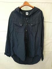 SW Shirt/セーラーシャツ/長袖シャツ/S/コットン/NVY/無地/エーアイイー