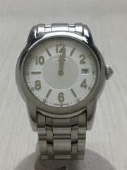 クォーツ腕時計/アナログ/SLV/SLV/0256 6.960.547/コーチ