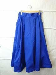 ロングスカート/36/コットン/BLU/17S-SL-001