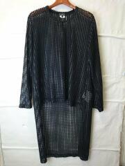 19AW/メッシュ/ロングテイル/長袖Tシャツ/S/ポリエステル/BLK/PD-T049/AD2019