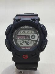 G-SHOCK/クォーツ腕時計/デジタル/ラバー/BLK/G-9100