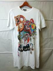 18SS/Mona Luison Print S/S Tee/Tシャツ/S/プリント/PA-T003/AD2017