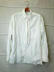 A-右前切り替え環縫いシャツ/長袖シャツ/2/コットン/WHT/hv-b06-001