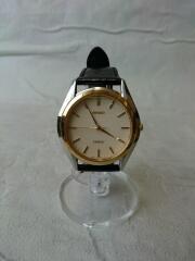 クォーツ腕時計/DOLCE/アナログ/BEG/BLK/8J41-6160