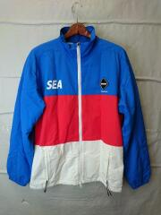 ×WIND AND SEA/PRACTICE JACKET/ナイロンジャケット/S/BLU/FCRB-192115