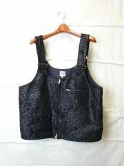 DSD Vest floral/ベスト/L/ポリエステル/BLK/ペーズリー