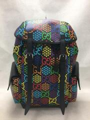 GG Psychedelic Medium Backpack/サイケデリック/リュック/BLK/GG柄/598140