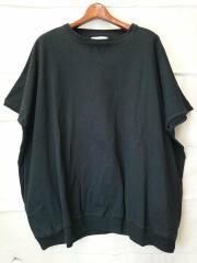 18SS/BIG CREW S/S/Tシャツ/--/コットン/BLK/無地/Jie-STD-CT01