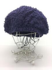 ベレー帽/--/コットン/NVY/無地