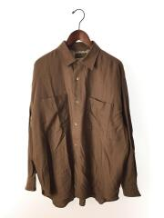 CUPRA WOOL WPK PLAIN SHIRTS/長袖シャツ/L/BRW/20050470108010