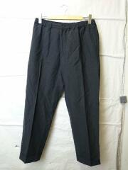 21SS/Easy Trousers/イージートラウザー/ボトム/32/リネン/BLK/KS21SPT09
