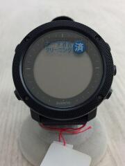 腕時計/デジタル/ナイロン/BLK/BLK