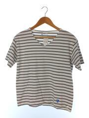 Tシャツ/1/コットン/GRY/ボーダー