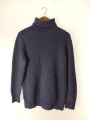 セーター(厚手)/--/ウール/BLU