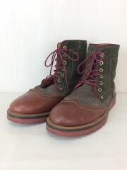 MEDALLION BOOTS メダリオン ブーツ/トレッキングブーツ/US9/BRW/スウェード