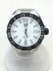 クォーツ腕時計・フォーミュラ1ウォッチ/アナログ/WHT/SLV/箱コマ有/ダイバーズ FORMULA1