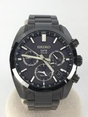 アストロン50周年記念/デュアルタイム/1500本限定/ソーラー腕時計/アナログ/ステンレス