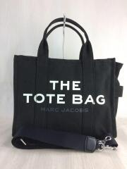 THE SMALL TRAVELER TOTE BAG/トートバッグ/キャンバス/BLK/M001616-001
