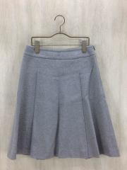 スカート/36/コットン/GRY