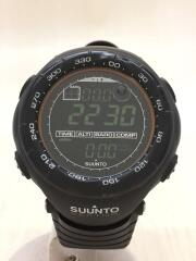 VECTOR/ベクター/クォーツ腕時計/デジタル/ラバー/BLK