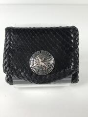 LEATHER CRAFT YOU/コインケース/レザー/BLK