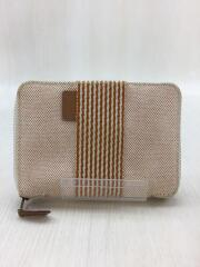 財布/キャンバス/ORN/ニューフールトゥ/パースPM/内側ステッチ部分変色有