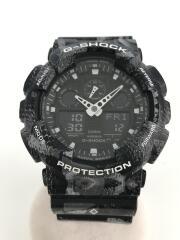 ×MARCELO BURLON/G-SHOCK/クォーツ腕時計/GA-100MRB-1AJR