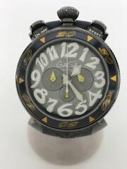 クロノグラフ/クォーツ腕時計/アナログ/ラバー/6054.6