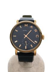 Baker/ベイカー/クォーツ腕時計/アナログ/レザー/NVY/MBM1329