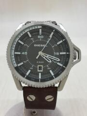 Rollcage/クォーツ腕時計/アナログ/BLK/DZ1716