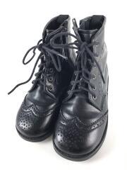 カントリーブーツ/ショートブーツ/キッズ靴/17cm/ブーツ