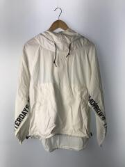 WIP/W'LUCY PULLOVER/S/ナイロン/WHT/リップストップナイロン