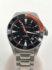 ダイバーズウォッチ/自動巻腕時計/アナログ/ステンレス/SLV/カーキネイビー/H823050
