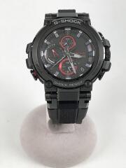 ソーラー腕時計・G-SHOCK/MTG-B1000B-1AJF/アナログ/ラバー/BLK/BLK