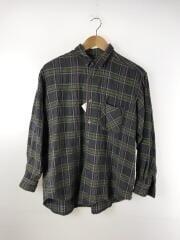 ウールチェックシャツ/AD1992/長袖シャツ/--/ウール/GRY/チェック
