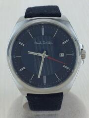 腕時計/アナログ/ステンレス/BLU/116-T020640