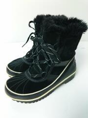 TIVOLI II WOMENS/ブーツ/22.5cm/BLK/スウェード/NL2089-010