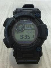 ソーラー腕時計・G-SHOCK/マスターオブG/FROGMAN/デジタル/ラバー/BLK/BLK
