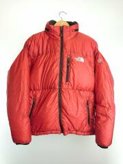PRISM OPTIMUS JACKET/ND01464/ダウンジャケット/S/ナイロン/RED nd01464