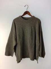 セーター(薄手)/4-227955/ウール/GRY/18AW