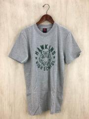 ×STRANGER/Tシャツ/S/コットン/GRY/SU191201NIG/ナイキ