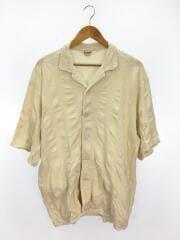 半袖シャツ/L/コットン/IVO/タウンクラフト