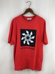 Arrows Print T-Shirt/M/コットン/RED/G012-T002/ゴーシャラブチンスキー